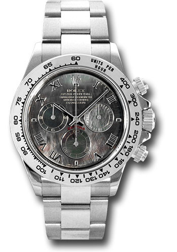 Rolex Watches - Daytona White Gold - Bracelet - Style No: 116509 dkmr