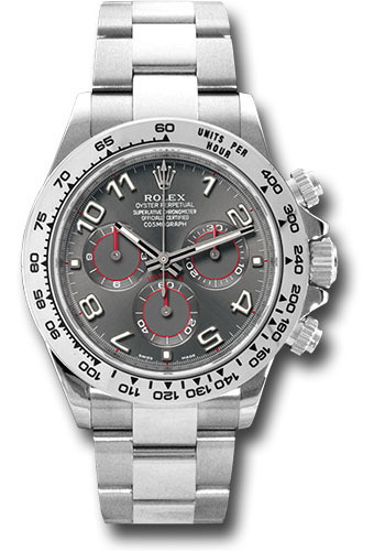 Rolex Watches - Daytona White Gold - Bracelet - Style No: 116509 gra