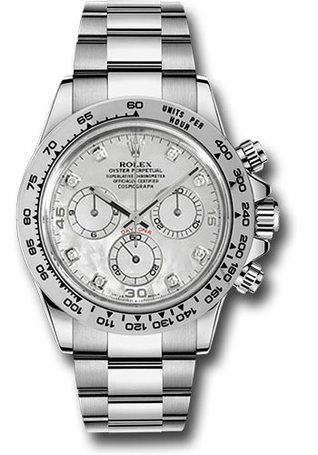 Rolex Watches - Daytona White Gold - Bracelet - Style No: 116509 md