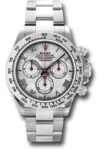 Rolex Watches - Daytona White Gold - Bracelet - Style No: 116509 mt