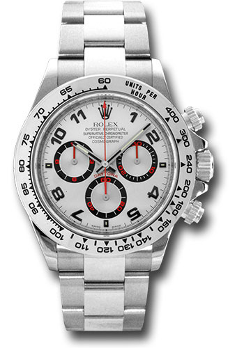Rolex Watches - Daytona White Gold - Bracelet - Style No: 116509 sa