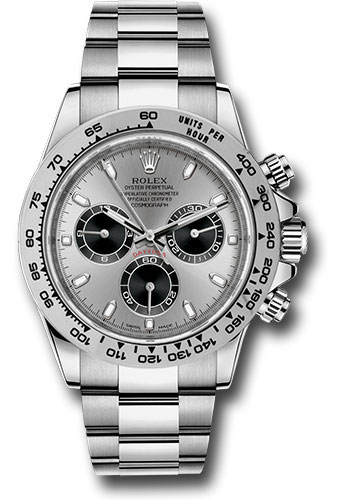 Rolex Watches - Daytona White Gold - Bracelet - Style No: 116509 stbk