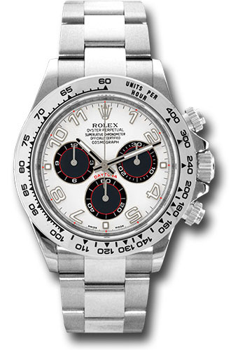 Rolex Watches - Daytona White Gold - Bracelet - Style No: 116509 wbka