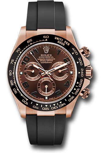 Rolex Watches - Daytona Everose Gold - Oysterflex Strap - Style No: 116515LN choof