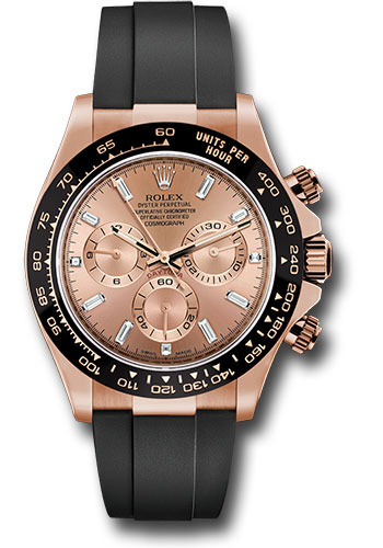 Rolex Watches - Daytona Everose Gold - Oysterflex Strap - Style No: 116515LN pdof