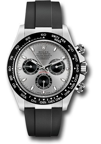 Rolex Daytona White Gold Oysterflex Strap Watches