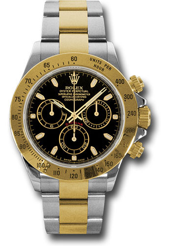 Rolex Watches - Daytona Steel and Gold - Style No: 116523 bks