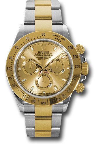 Rolex Watches - Daytona Steel and Gold - Style No: 116523 chs