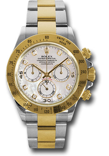 Rolex Watches - Daytona Steel and Gold - Style No: 116523 md