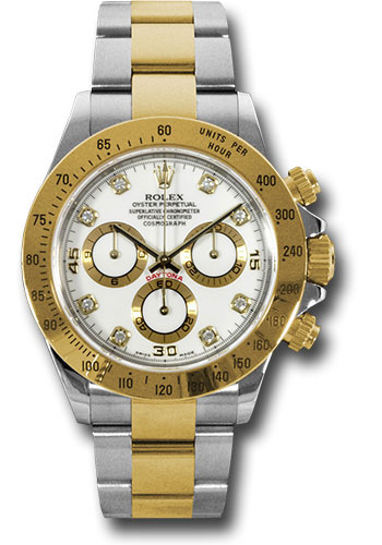 Rolex Watches - Daytona Steel and Gold - Style No: 116523 wd