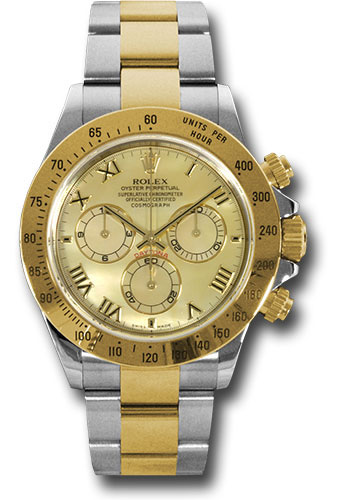 Rolex Watches - Daytona Steel and Gold - Style No: 116523 ym