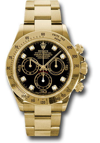 Rolex Watches - Daytona Yellow Gold - Bracelet - Style No: 116528 bkd