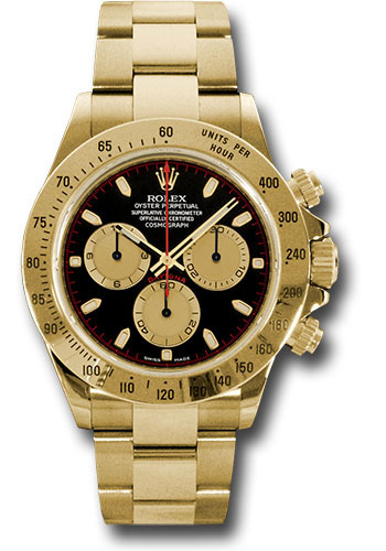 Rolex Watches - Daytona Yellow Gold - Bracelet - Style No: 116528 pnbk
