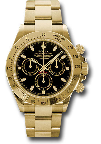 Rolex Watches - Daytona Yellow Gold - Bracelet - Style No: 116528 bks