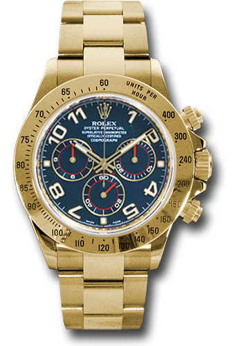Rolex Watches - Daytona Yellow Gold - Bracelet - Style No: 116528 bla