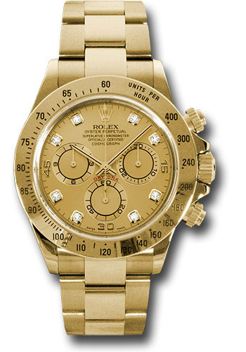 Rolex Watches - Daytona Yellow Gold - Bracelet - Style No: 116528 chd
