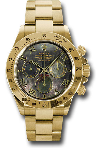 Rolex Watches - Daytona Yellow Gold - Bracelet - Style No: 116528 dkm