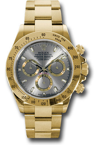 Rolex Watches - Daytona Yellow Gold - Bracelet - Style No: 116528 gs