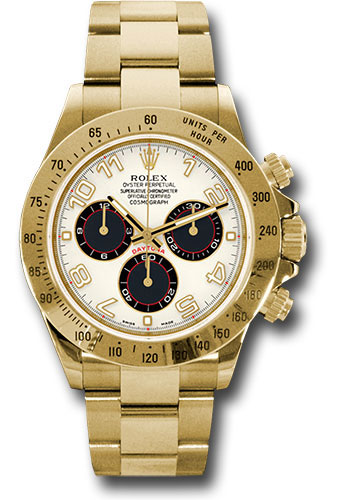 Rolex Watches - Daytona Yellow Gold - Bracelet - Style No: 116528 ibka