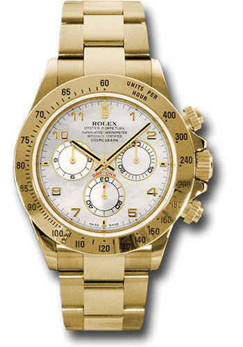 Rolex Watches - Daytona Yellow Gold - Bracelet - Style No: 116528 ma