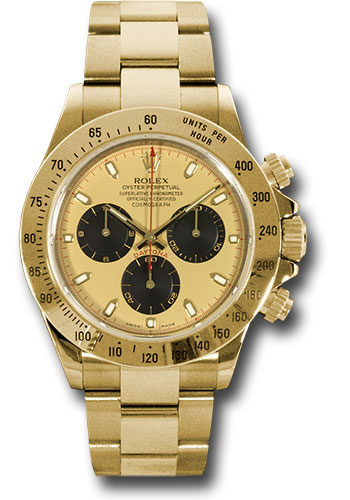Rolex Watches - Daytona Yellow Gold - Bracelet - Style No: 116528 pn