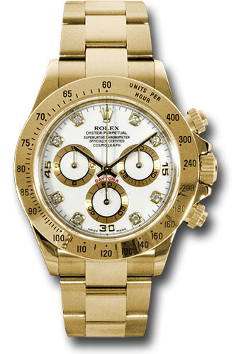 Rolex Watches - Daytona Yellow Gold - Bracelet - Style No: 116528 wd