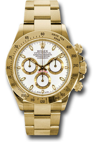 Rolex Watches - Daytona Yellow Gold - Bracelet - Style No: 116528 ws