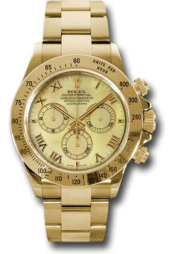 Rolex Watches - Daytona Yellow Gold - Bracelet - Style No: 116528 ymr