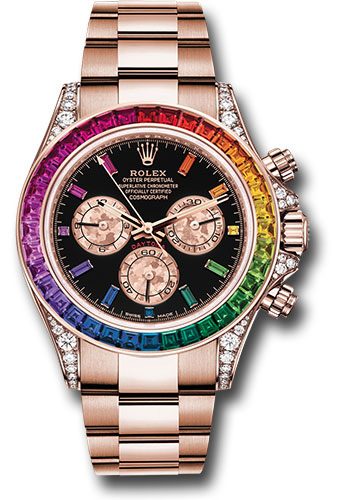 Rolex Watches - Daytona Rainbow - Style No: 116595RBOW bkgcs