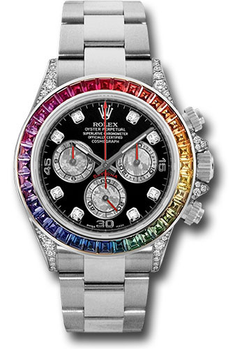 Rolex Watches - Daytona Rainbow - Style No: 116599 RBOW