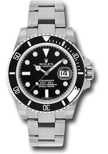 Rolex Watches - Submariner Steel - Style No: 116610LN