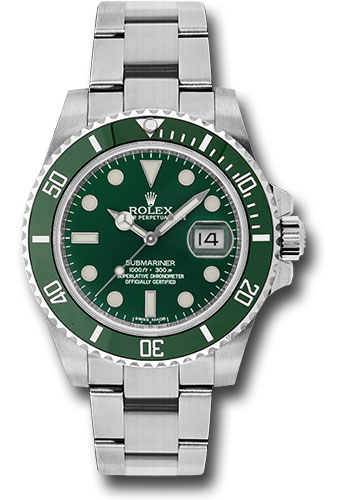 Rolex Watches - Submariner Steel - Style No: 116610LV