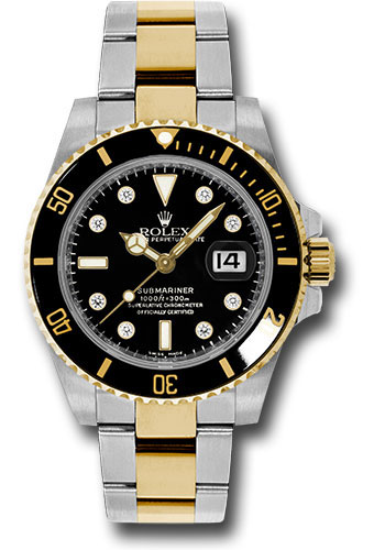 Rolex Watches - Submariner Steel and Gold - Style No: 116613 bkd