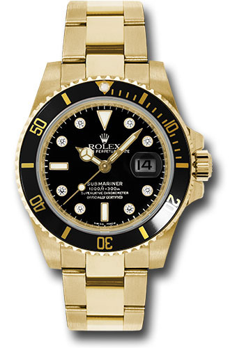 Rolex Watches - Submariner Gold - Style No: 116618 bkd