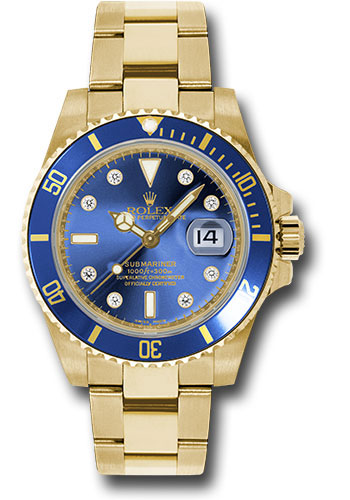 Rolex Watches - Submariner Gold - Style No: 116618 bld