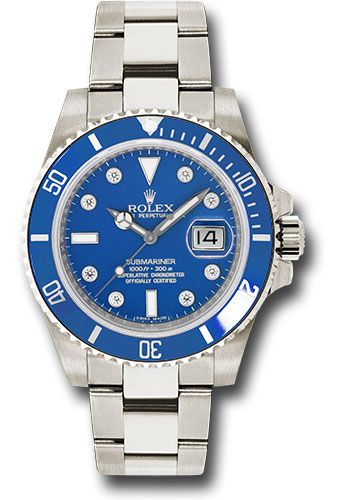Rolex Watches - Submariner Gold - Style No: 116619LB