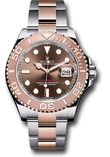 Rolex Watches - Yacht-Master 40 mm - Steel and Everose Gold - Style No: 116621