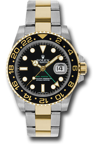 Rolex Watches - GMT-Master II Steel and Yellow Gold - Style No: 116713LN