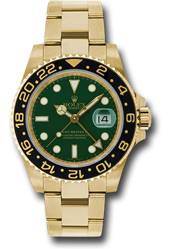 Rolex Watches - GMT-Master II Yellow Gold - Style No: 116718 g