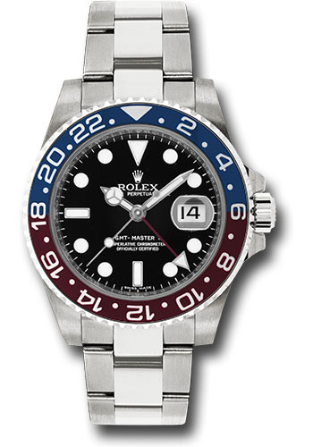 Rolex Watches - GMT-Master II White Gold - Style No: 116719 BLRO