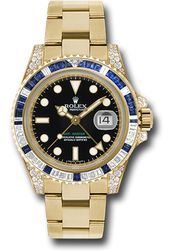 Rolex Watches - GMT-Master II Yellow Gold - Style No: 116758SA
