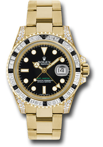 Rolex Watches - GMT-Master II Gold - Style No: 116758SANR