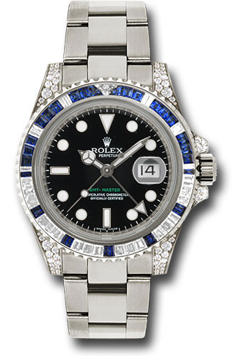 Rolex Watches - GMT-Master II White Gold - Style No: 116759SA
