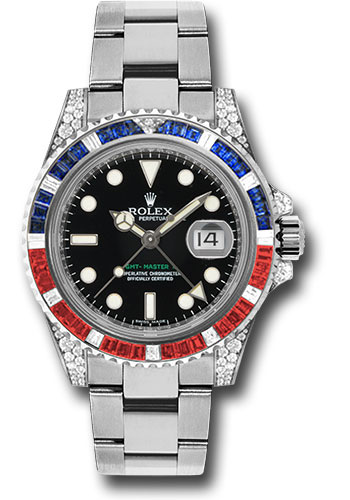 Rolex Watches - GMT-Master II White Gold - Style No: 116759SARU