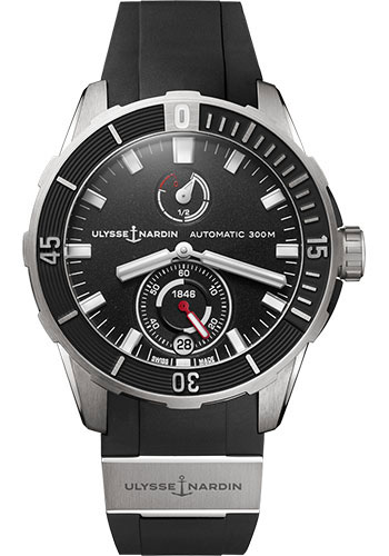 Ulysse Nardin Watches - Diver Chronometer 44mm - Titanium - Style No: 1183-170-3/92