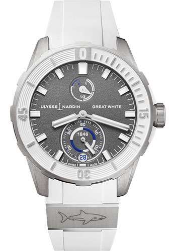 Ulysse Nardin Watches - Diver Chronometer 44mm - Titanium - Style No: 1183-170LE-3/90-GW