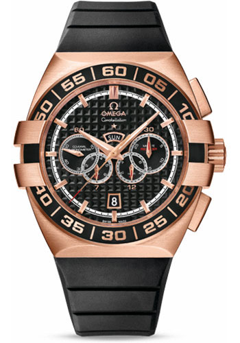 Omega Watches - Constellation Double Eagle Co-Axial Chrono Red Gold - Style No: 121.62.44.52.01.001