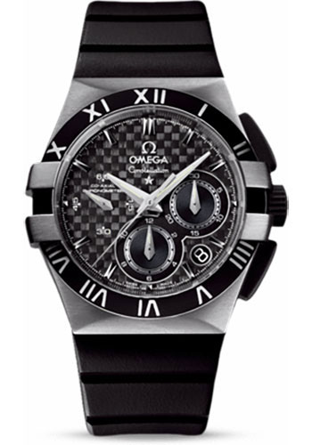 Omega Watches - Constellation Double Eagle Co-Axial Chrono Stainless Steel - Style No: 121.92.35.50.01.001