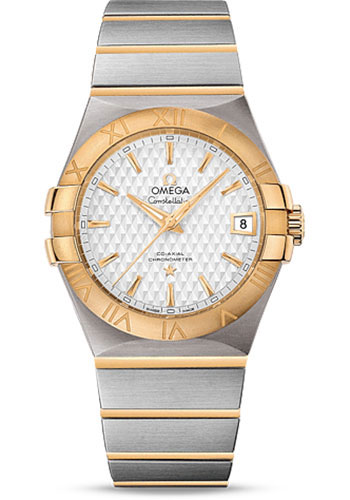 Omega Watches - Constellation Co-Axial 35 mm - Brushed Steel And Yellow Gold - Style No: 123.20.35.20.02.006