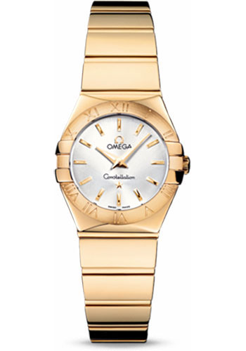 Omega Watches - Constellation Quartz 24 mm - Polished Yellow Gold - Style No: 123.50.24.60.02.004